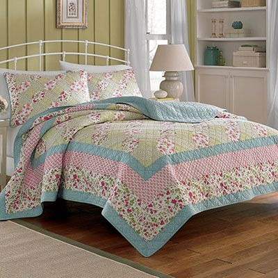 Laura Ashley Whitley Quilt Quilt Bedding Home Decor
