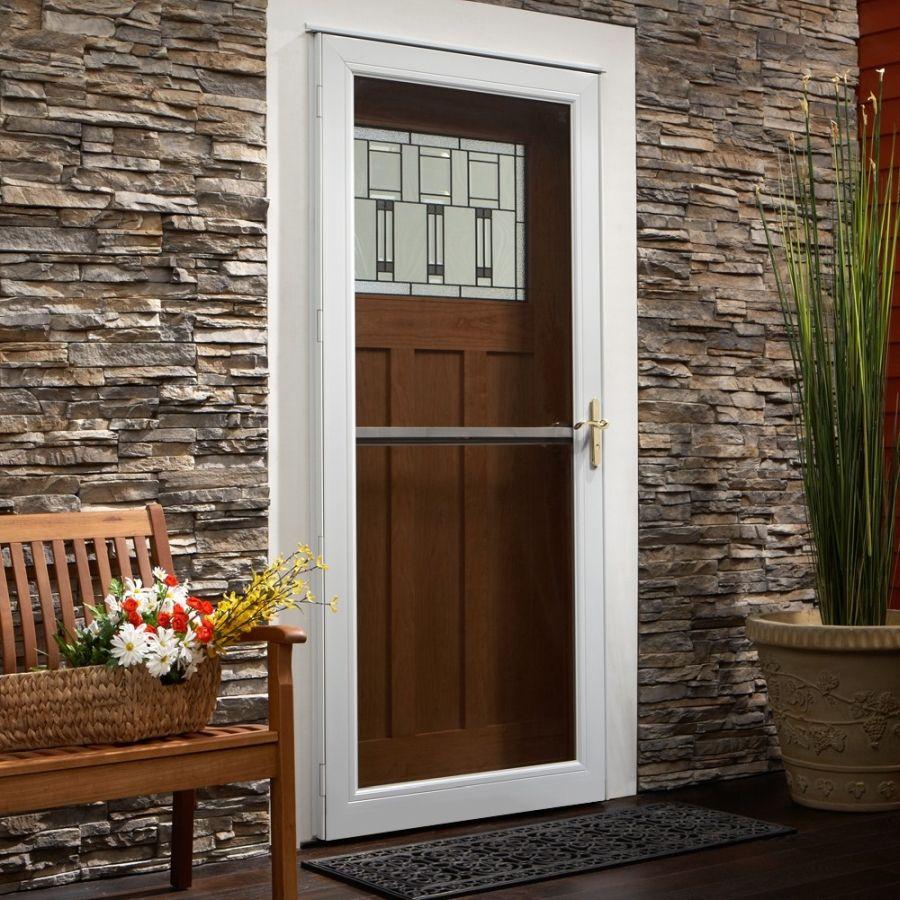 Andersen 36 X 80 Contemporary Single Vent Storm Door Color