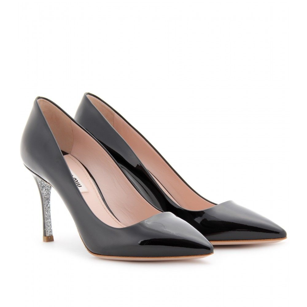 free shipping top quality buy cheap latest collections Miu Miu Patent Leather & Glitter Pumps footlocker best prices for sale buy cheap comfortable 1PTqPtC8T