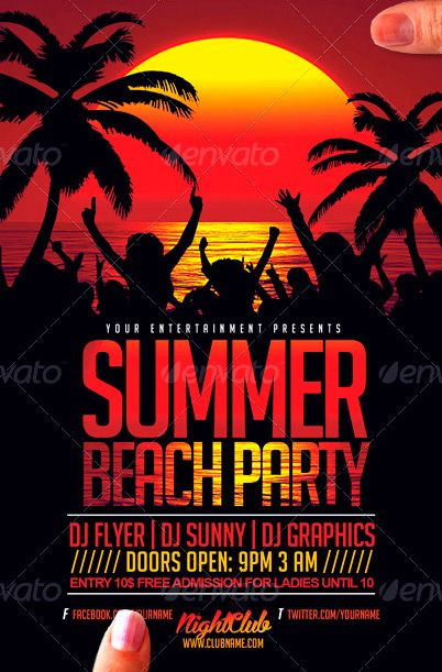 Pin by rodri calca on Cosas que kkkkkcomprar Pinterest – Beach Party Flyer Template