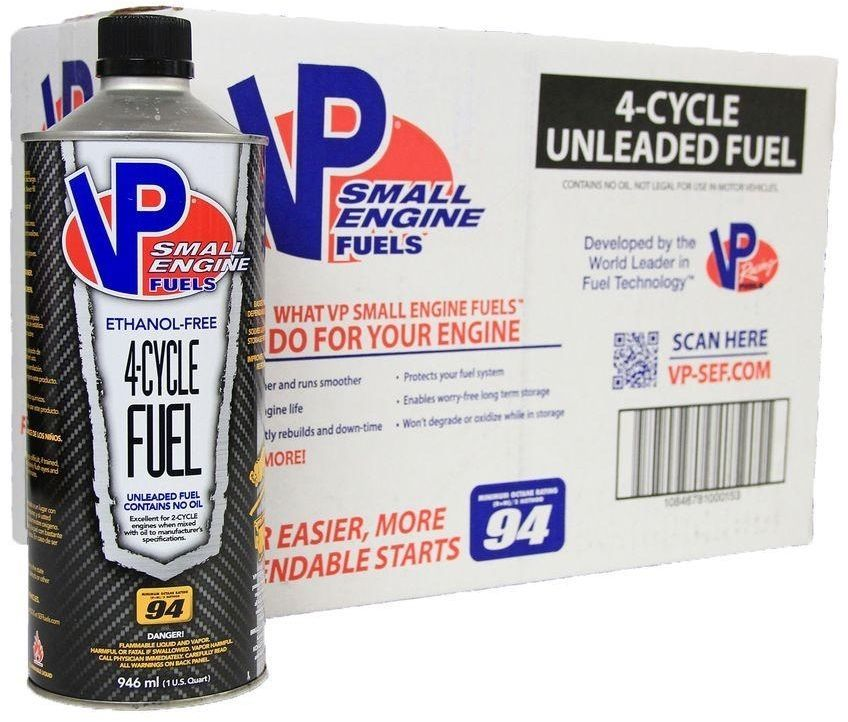 VP Small Engine Power Equipment Fuel 4Cycle 94 Octane