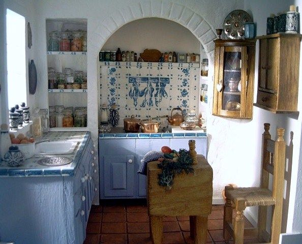 miniature kitchen by Mary Payne