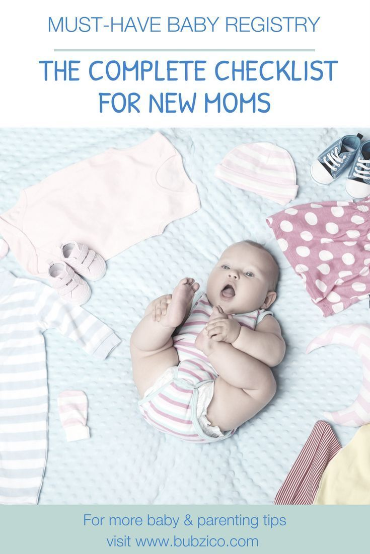 MustHave First Baby Registry The Complete Checklist For New Moms