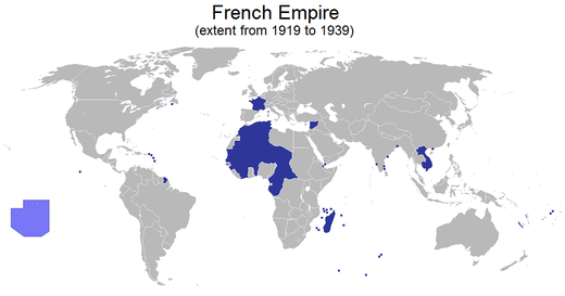 French empire 1919 1939g mapas varios pinterest french french empire 1919 1939g gumiabroncs Image collections