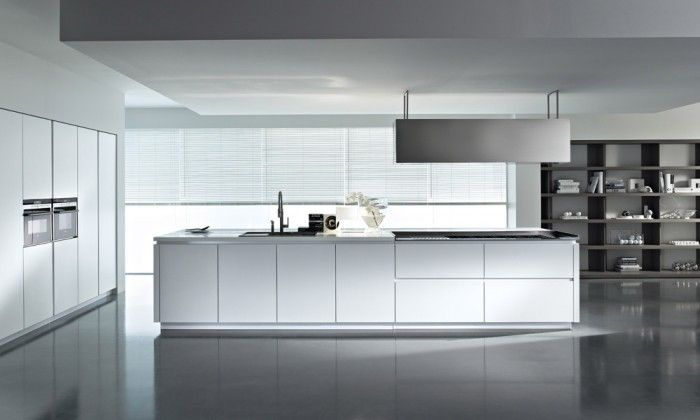 Unique Contemporary Kitchen Cabinets Design Program Without Handles