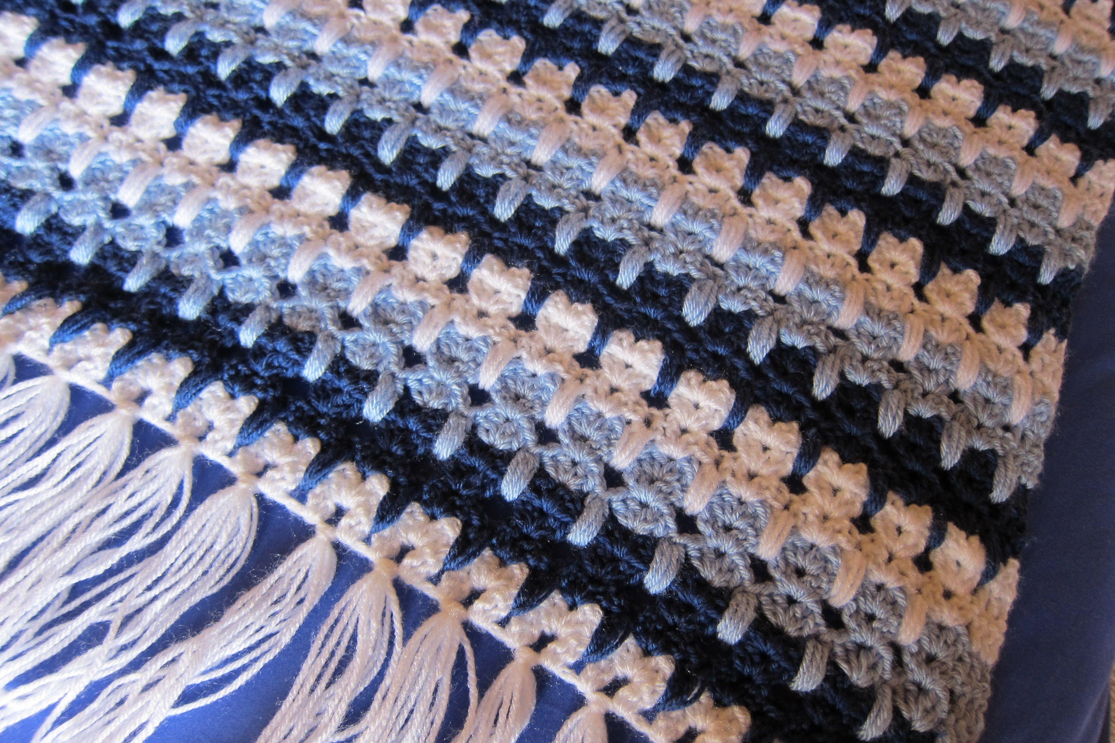 Crocheted Pussycat Knee Rug Stuff I Ve Made Crochet