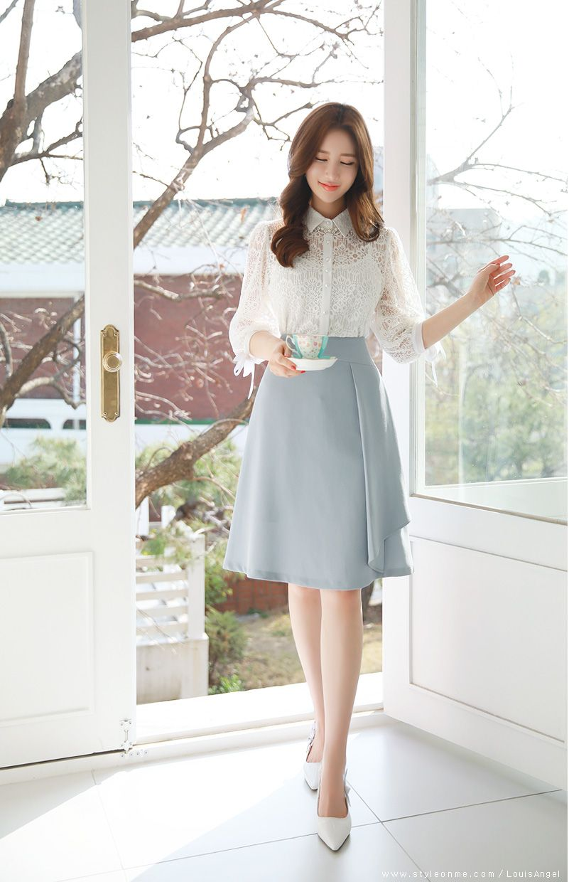Photo of Ruffle A-line Skirt