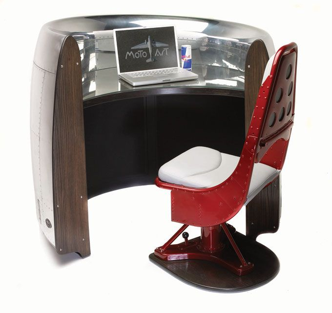 cant have your own private 727 airplane have a 727 cowling airplane desk - Schreibtisch Aus Flugzeugflgel