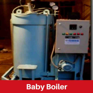 Baby Boilers aka Small Boiler Manufacturer in India in