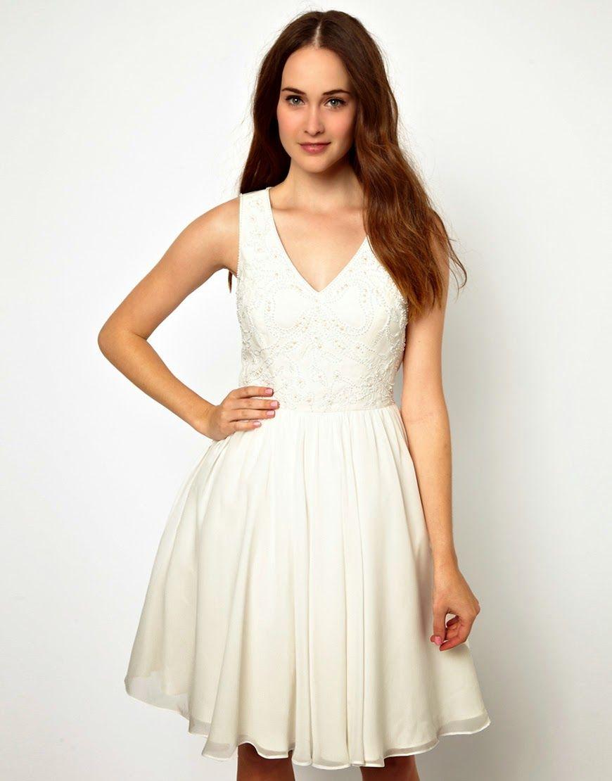 Patrón gratis: vestido corto de fiesta, ideal para jovencitas ...
