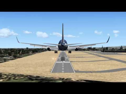 boeing 767 LANDING - FLIGHT SIMULATOR | gameo | Aircraft, Fighter