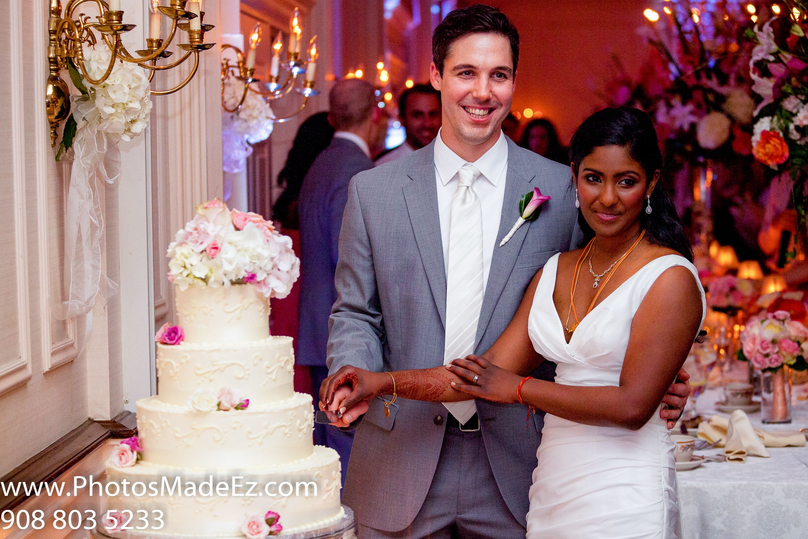 Fusion Wedding South Indian American In The Desmond Albany Ny With Kris Royal Weddings As Coordinators Make Up Artist Leena Decor By Total