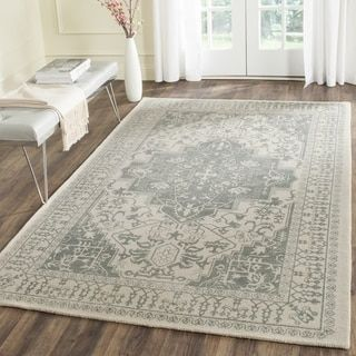 For Safavieh Handmade Restoration Vintage Grey Ivory Wool Rug 5 X 8 Get Free Shipping At Your Online Home Decor Outlet S