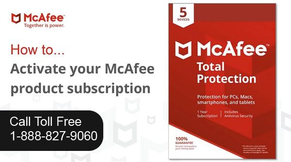 McAfee activate antivirus and security products are world