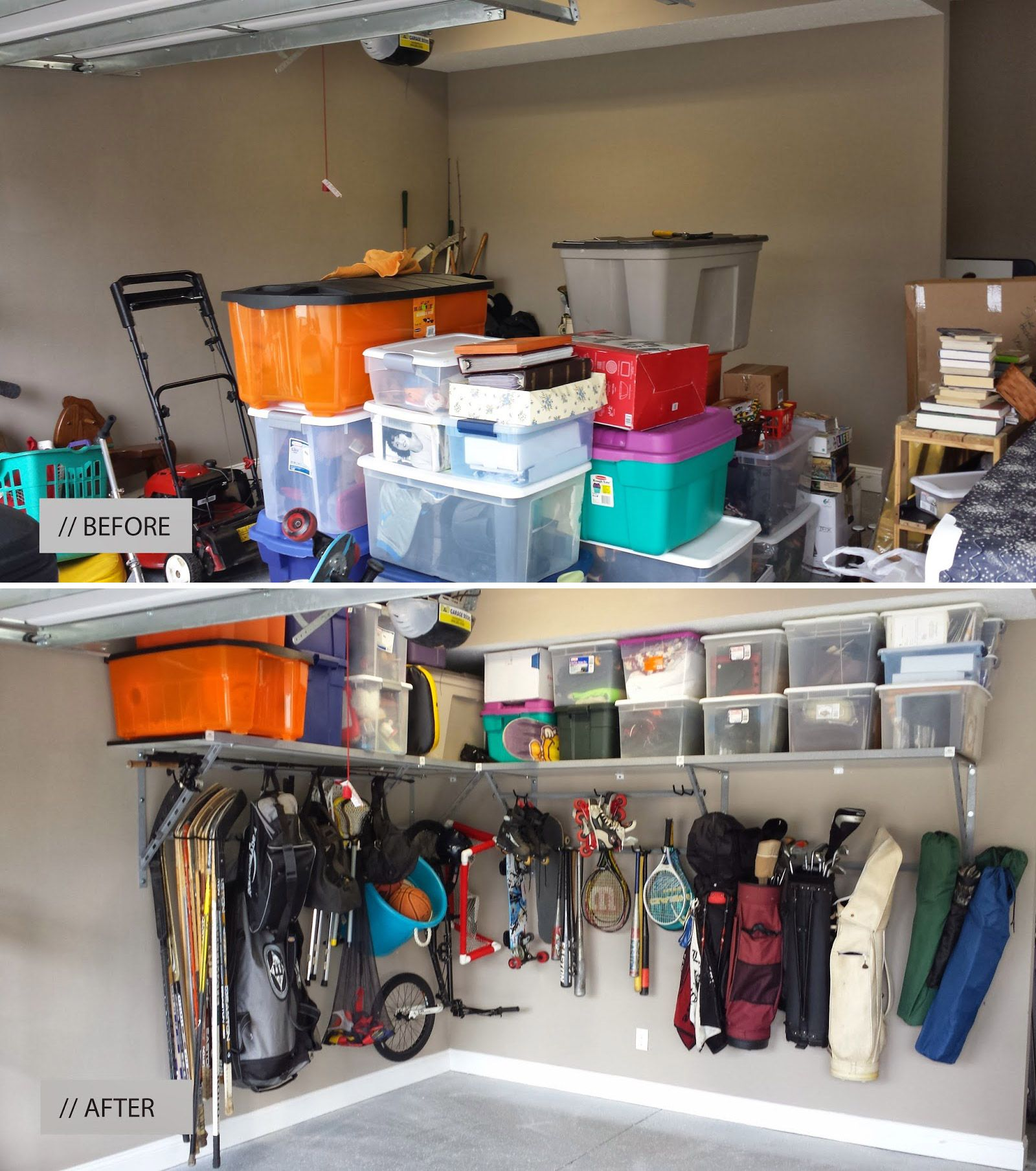 storage you cheap organization do garage ideas diy pin can