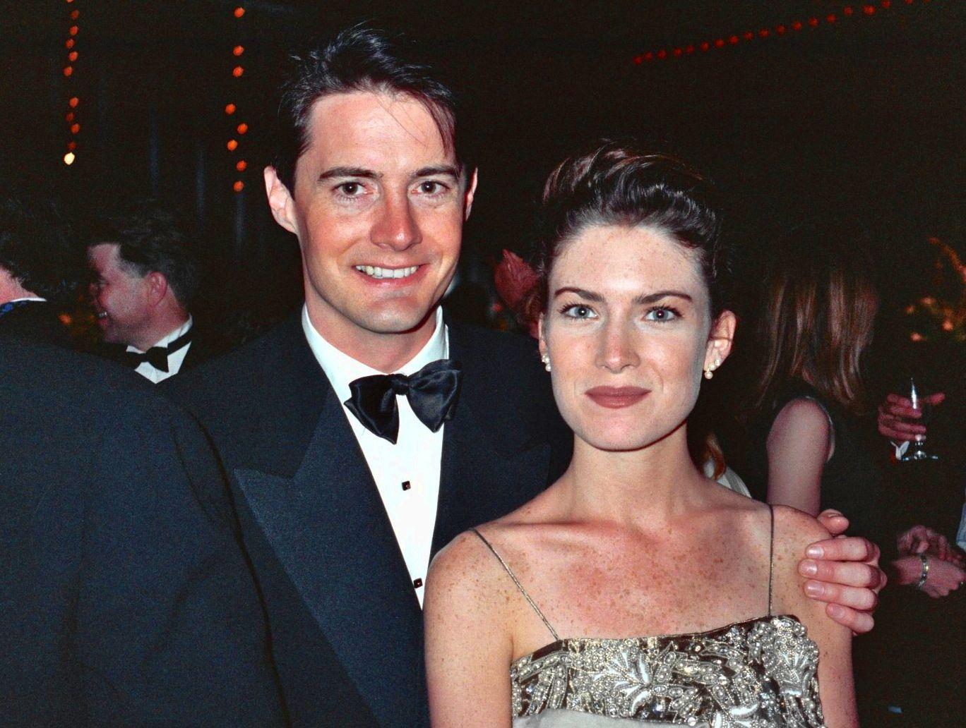 Kyle MacLachlan & Lara Flynn Boyle, 1990 Emmys