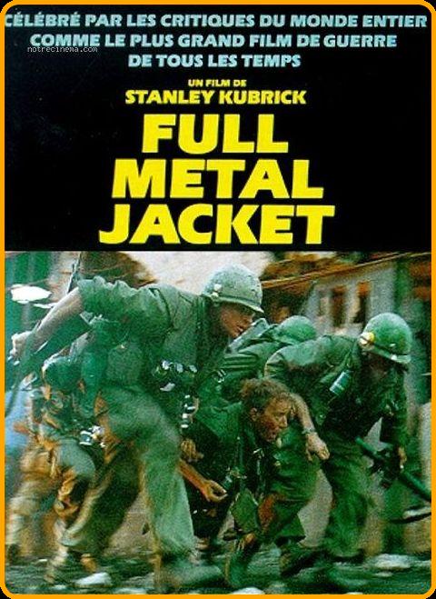 Full Metal Jacket Streaming Vf : metal, jacket, streaming, Metal, Jacket, TRUEFRENCH, DVDRip, Jacket,, Film,, Comic, Cover