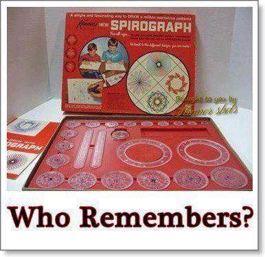Loved my Spirograph :)