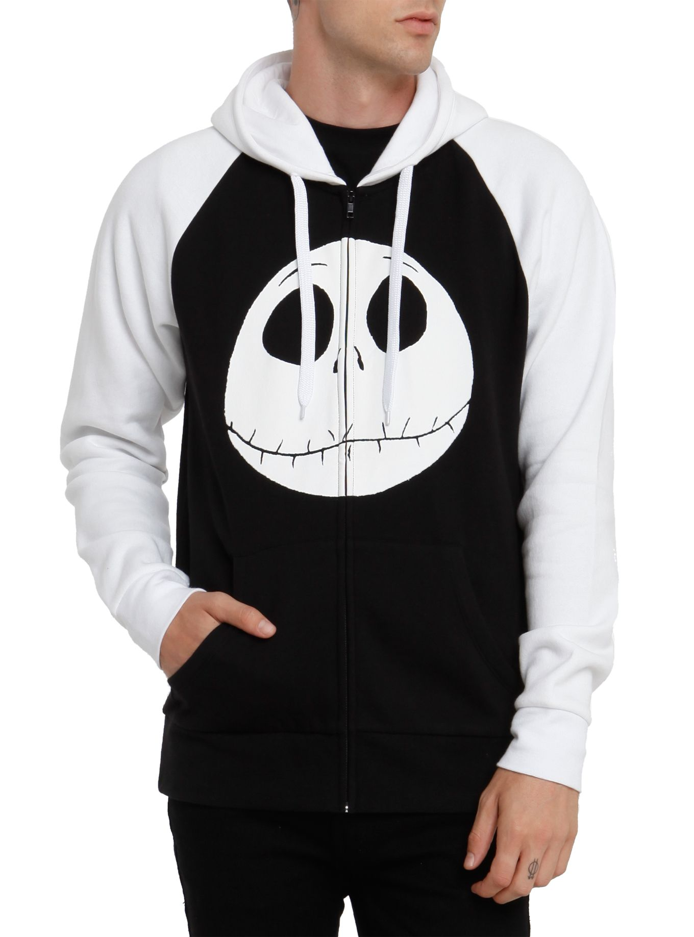 Disney Girls Nightmare Before Christmas Jack Pose Sweatshirt