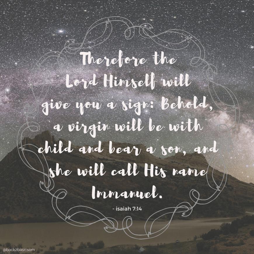12 Days Till Christmas Encouraging scripture, Isaiah