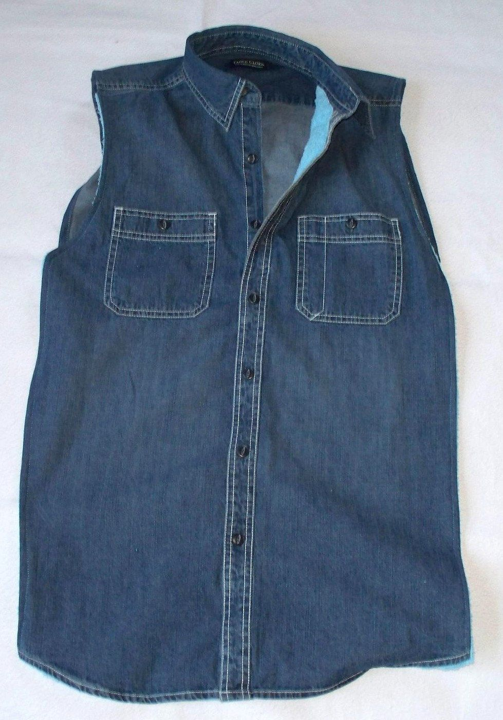 Denim Adult Clothing Protector Adult Bib 20 00 Via