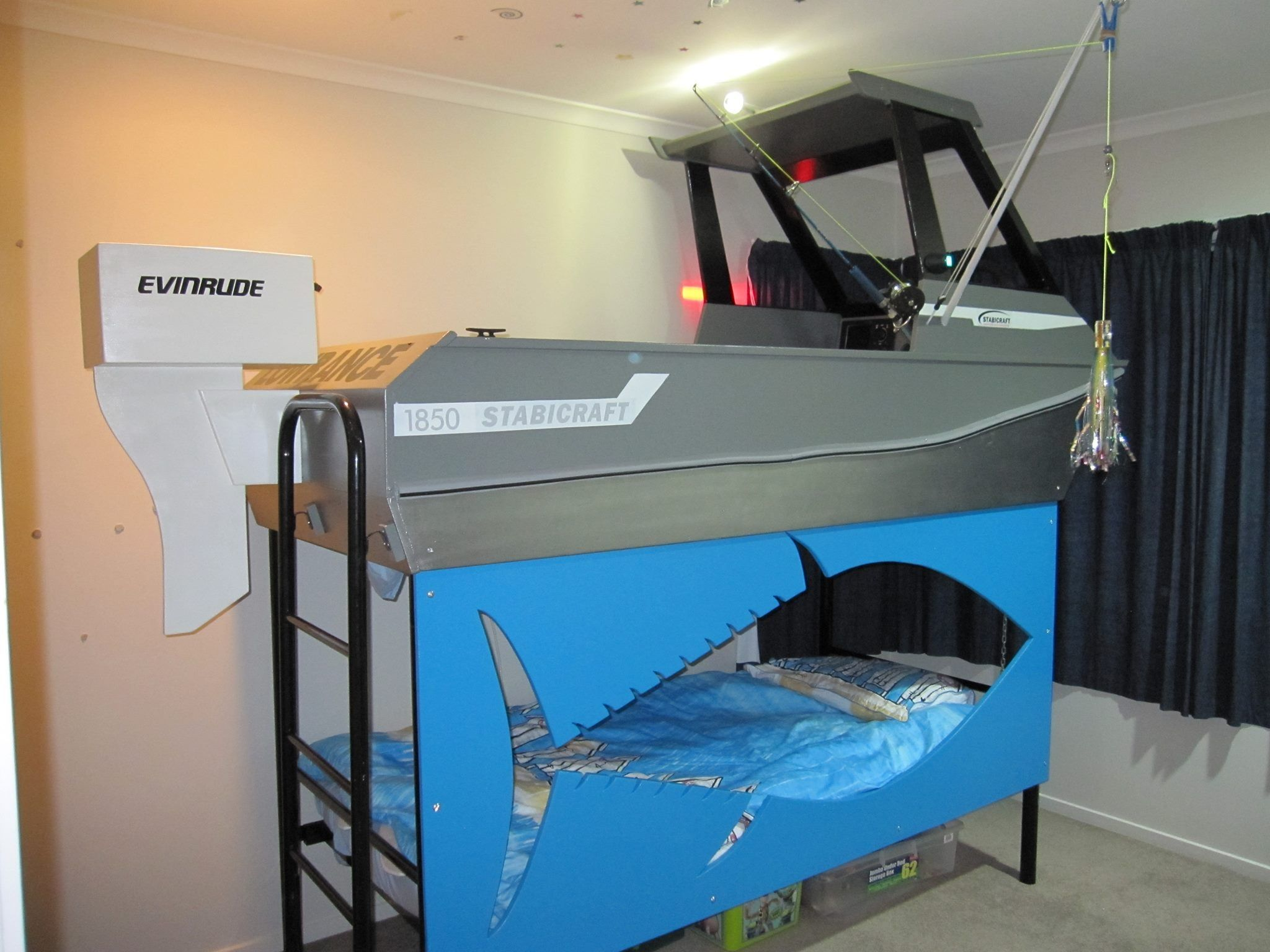 My Ll Guy Loves Sharks He Would Love This Bunk