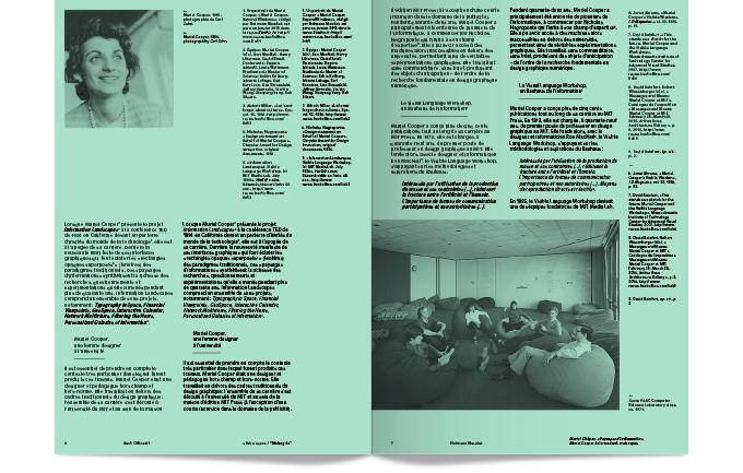 Back Office est une nouvelle revue annuelle entre design graphique et pratiques numériques, bilingue et multisupports.