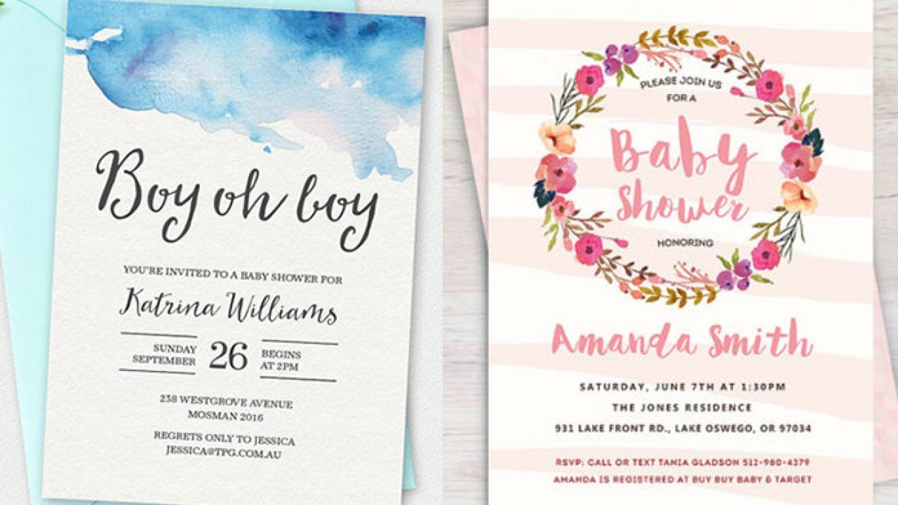 Uni Baby Shower Invitations Uk