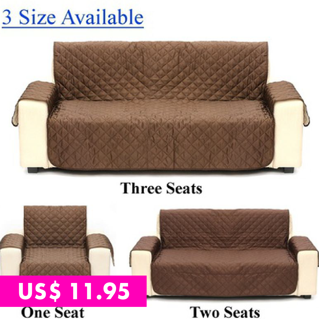 Modern Home Decor Single Twin Triple Seater Slipcovers Slim Velvet Cloth Art Spandex Stretch Elastic Fabric So Quilted Sofa Waterproof Quilt Recliner Slipcover