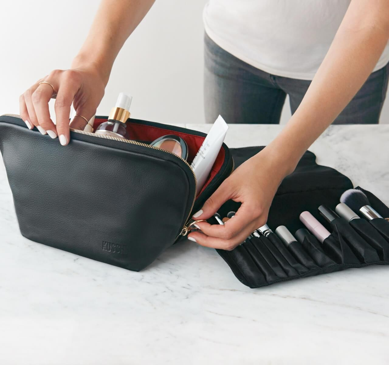 Kusshi The Best Organized Makeup Bag for Home and Travel