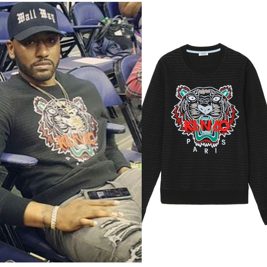 9b19afee #NBA Star #JohnWall wearing #Kenzo Tiger Logo Sweater. Are you a fan of the  look? And are you ready for the #KenzoxHM collab coming November?