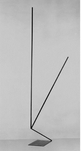 Olle Baertling (1911–1980, Sweden) 1957, iron, Tate Modern, London, UK