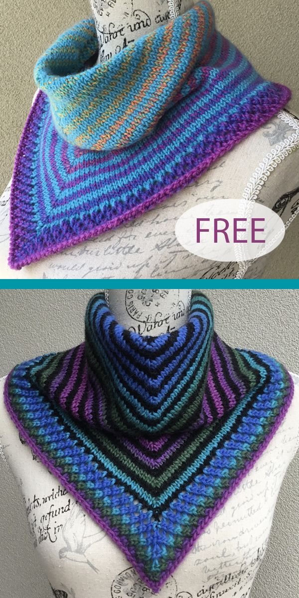 Photo of Free Knitting Pattern for Easy Rokeby Cowl