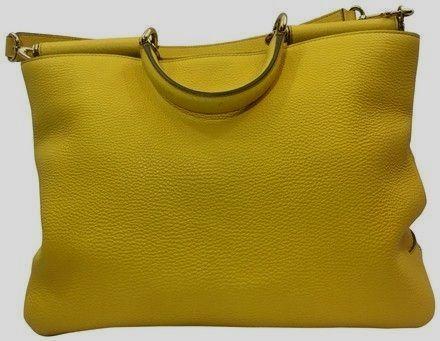 f5ef8a3a08ff Dolce Gabbana  Handbag Yellow  Leather Hobo Bag - Tradesy  leatherhobobags hobo  bag