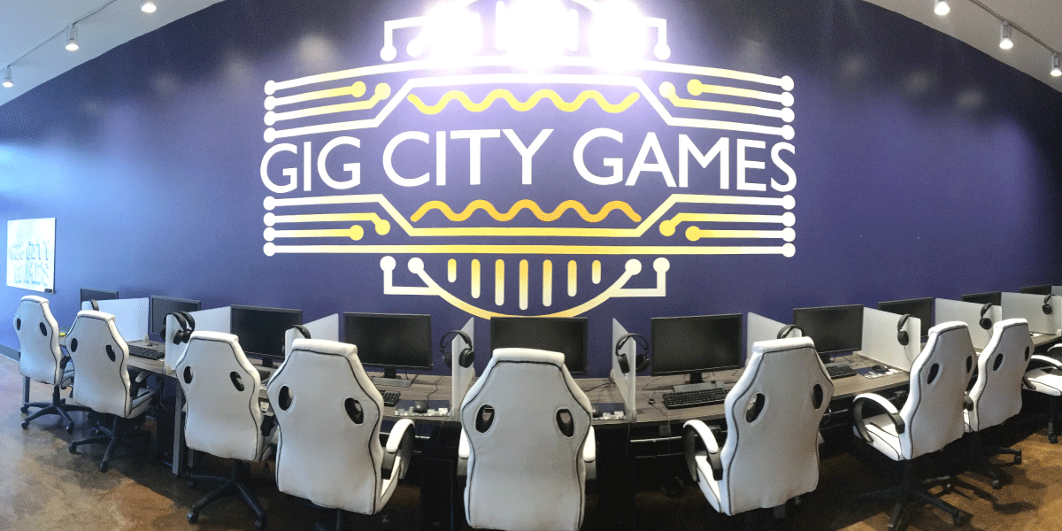 Computer Desks for Gig City Games City games, Games