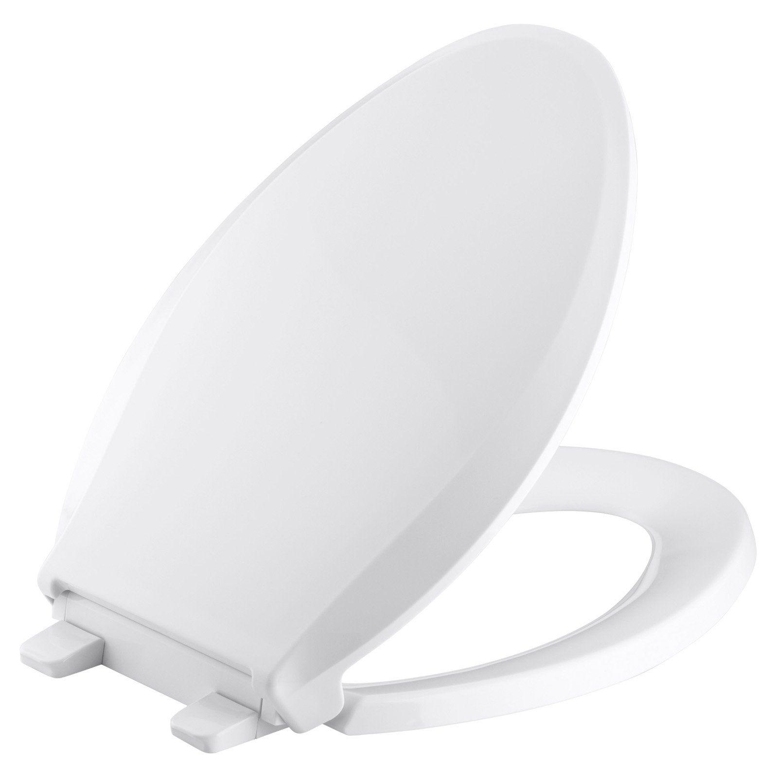 Kohler Cachet Quiet Close With Grip Tight Elongated Toilet Seat