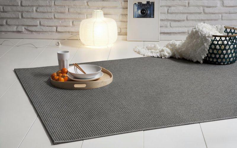 sisal alfombra. alfombra de lana tejida y sisal. alfombra moderna