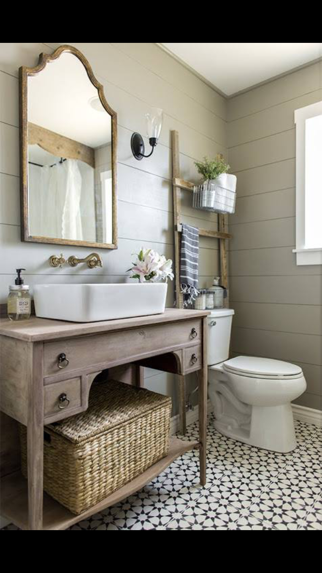 Lovevthe Open Vanity And Large Sink Modern Farmhouse