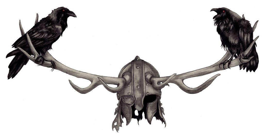 Great Odin's Ravens by EaterOfWorlds on DeviantArt | Raven ...