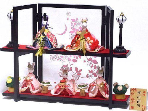 2014 Rabbit Hina Festival Doll Music Box from Japan J701 0173 | eBay
