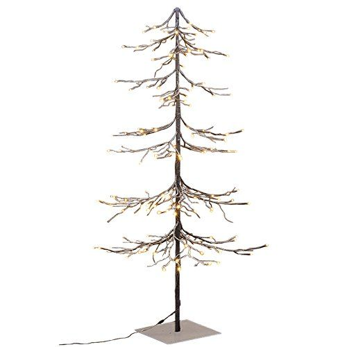 Lightshare Lighted Snow Fir Tree, Large Lightshare   www