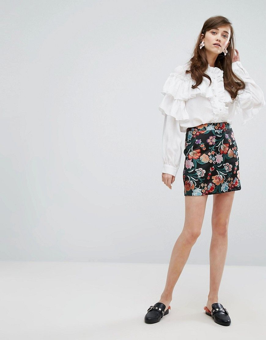 Sister In Short Skirt