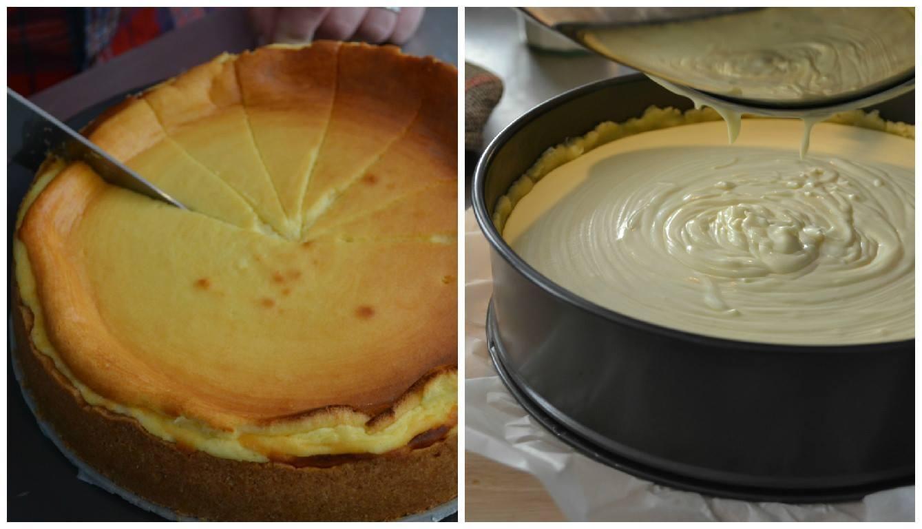 Dieser Käsekuchen wird nach einem der bekanntesten Käsekuchenrezepte zubereitet. Klassisch mit Magequark, Vanillepulver und einem Spritzer Zitrone. Da kann man einfach...