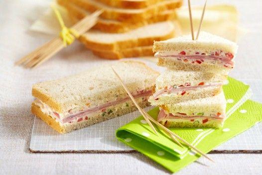 Bierschinken-Sandwich