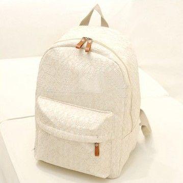 ad4ac31b00a school rugzak dames - Google zoeken | WARDROBE | Lace backpack, Lace ...