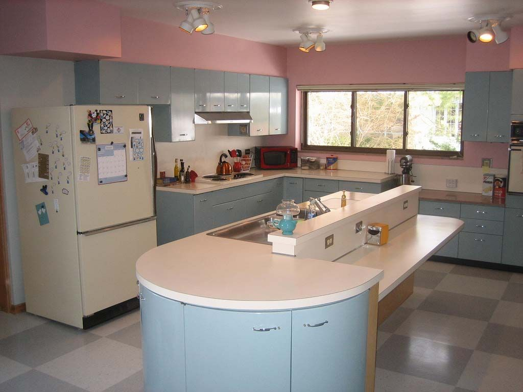 Pin By Tike S Travels On Youngstown Cabinets Metal Kitchen Cabinets Retro Kitchen Old Kitchen Cabinets
