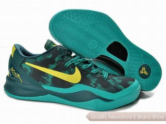 newest ddc7a 4e6fa Nike Zoom Kobe VIII Life Jade Yellow Shoes.More nike kobe 9 shoes for  sale,buy cheap kobe shoes at www.24hshoesmall.com