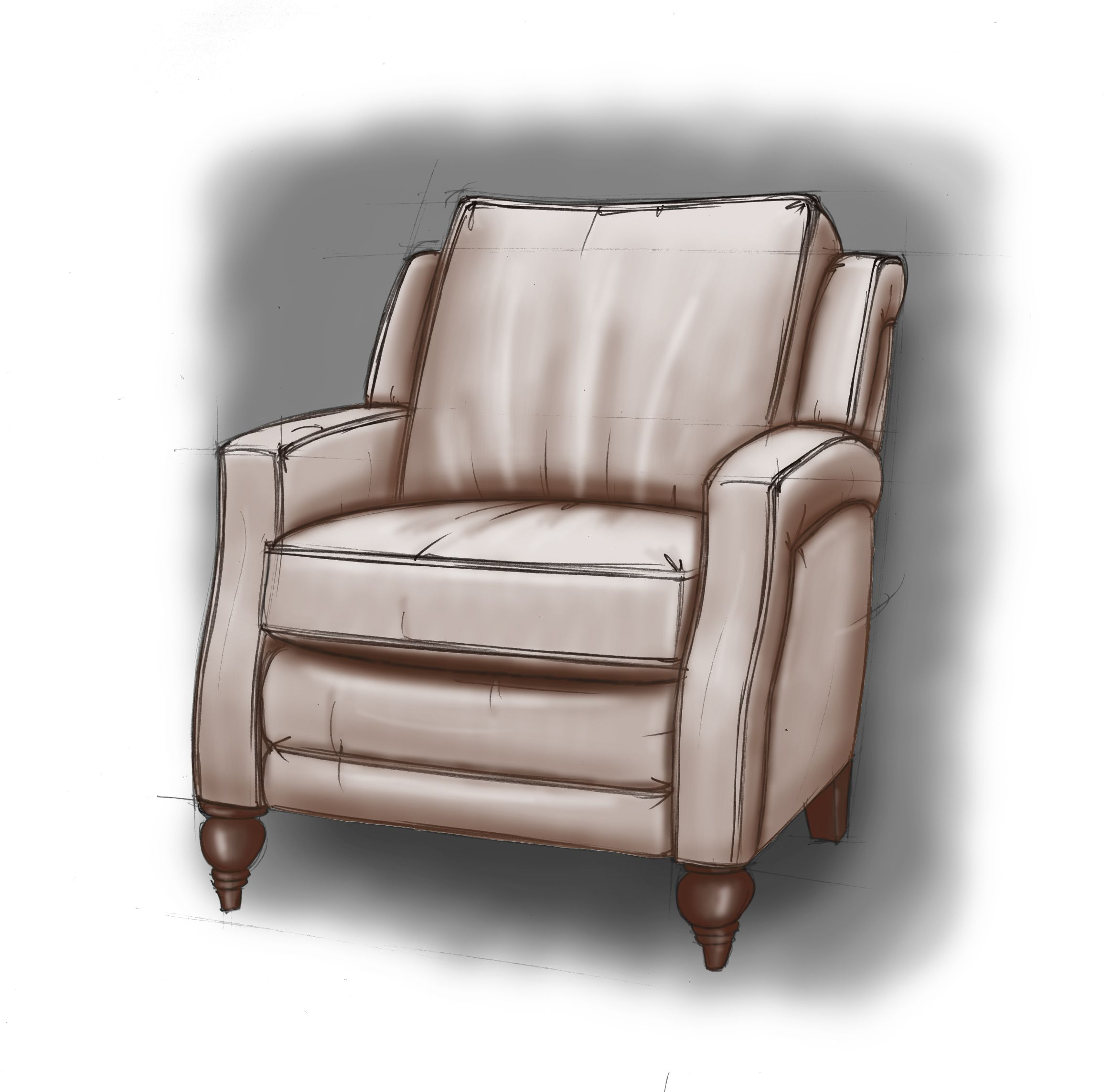 Dane Is A Wing Back Type Reclining Chair But With The Transitional Twist Of A Track Style Arm Reclining Sofa Rocker Recliners Recliner Chair