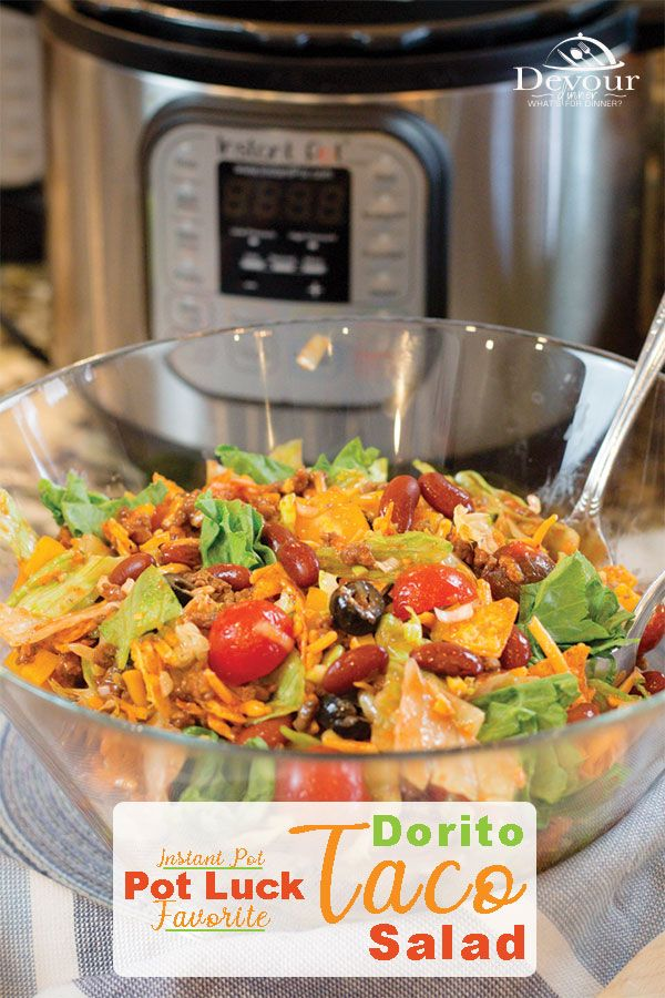 Neighborhood Winning Recipe ~ Dorito Taco Salad Recipe