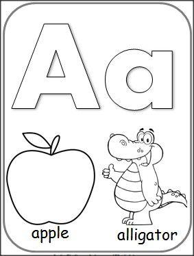Letter A Alphabet Card Preschool Letter Crafts Alphabet Cards Letter A Crafts